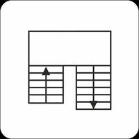 Лестница П-образная с поворотом на 180* через площадку