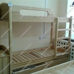 Кровать двухъярусная - фото 4560