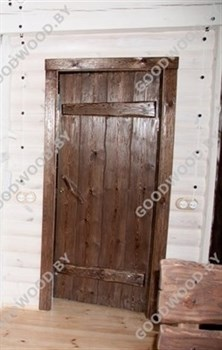 Дверь из дерева  цвет палисандр - фото 4567