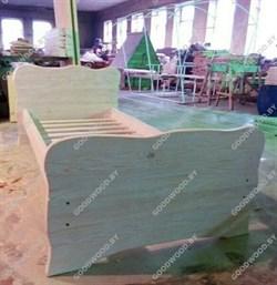 Кровать односпальная( цвет белёная сосна) - фото 4571
