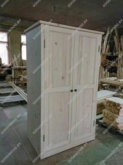 Шкаф (некрашеный) - фото 4594
