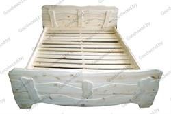 Кровать 2ухспальная из сосны Арт.56 (1600*2000) окрашенная - фото 4605