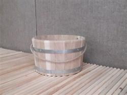 Ведро деревянное 10л.,  дуб - фото 4717