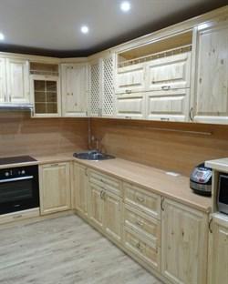 Кухня угловая, ольха - фото 4732