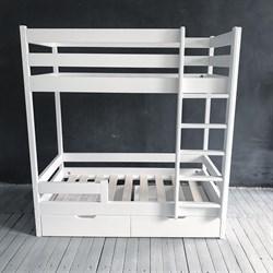 """Кровать детская """"Двухъярусная"""" - фото 5241"""