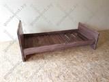 Кровать односпальная цвет палисандр