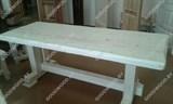 Стол  обеденный в бесцветном лаке (800*2000)