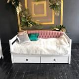 """Кровать детская """"Звездочка с мягкой спинкой"""""""